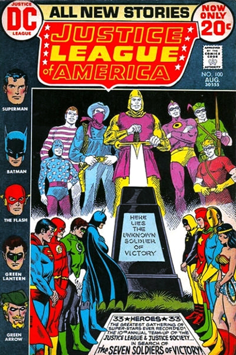 justice League of America, issue 100