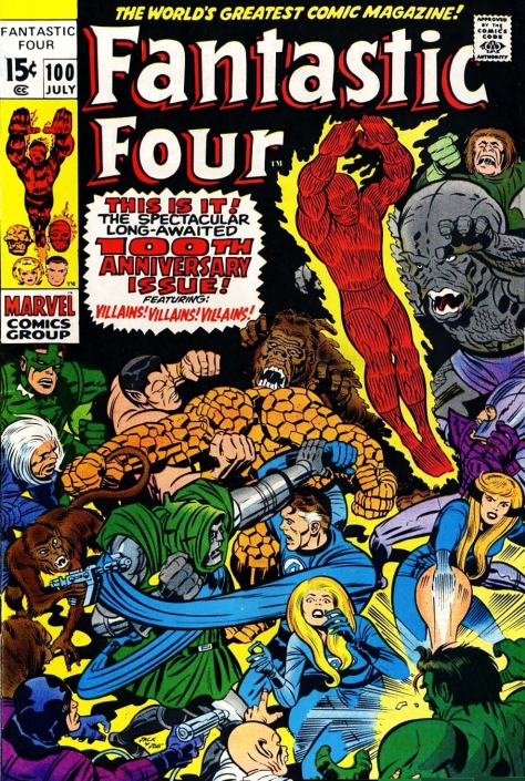 Fantastic Four, issue 100
