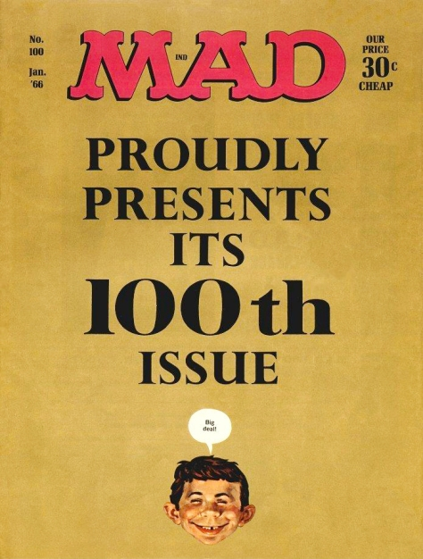 Mad, issue 100