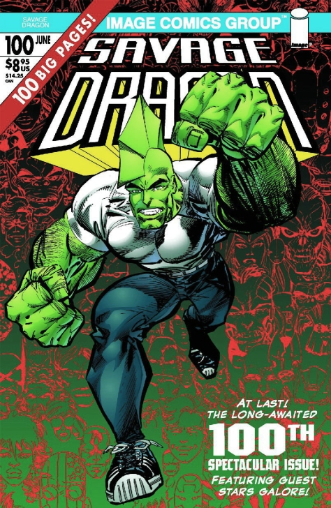 Savage Dragon, issue 100