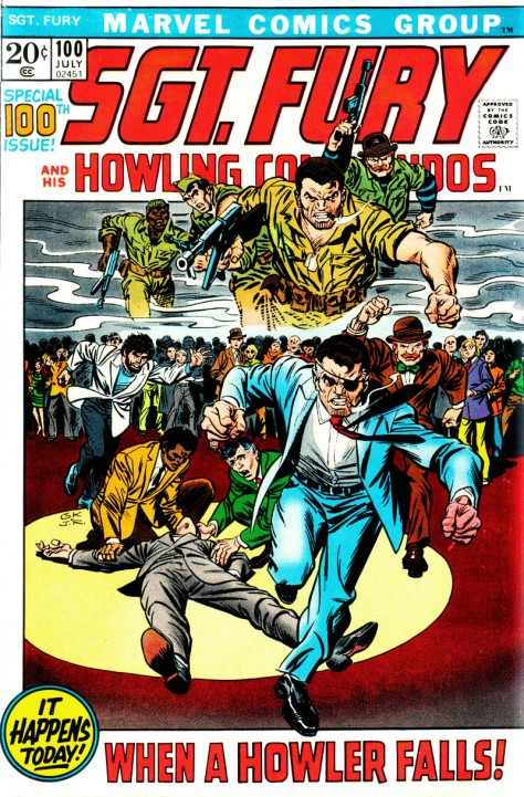 Sgt Fury and his Howling Commandos, issue 100