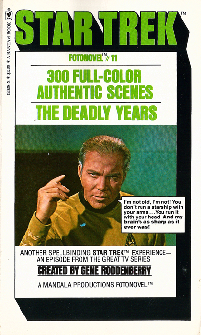Star Trek Fotonovel #11: The Deadly Years