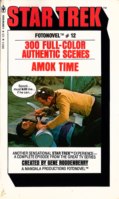 Star Trek Fotonovel #12: Amok Time