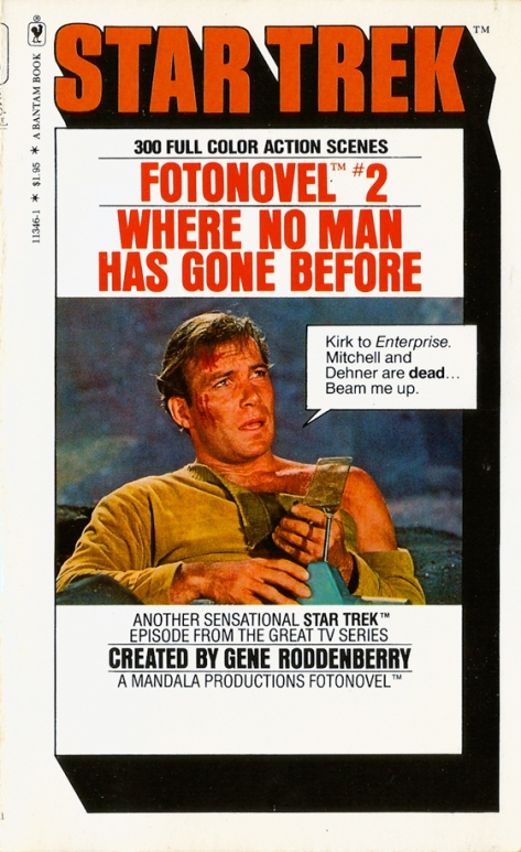 Star Trek Fotonovel #2: Where No Man Has Gone Before