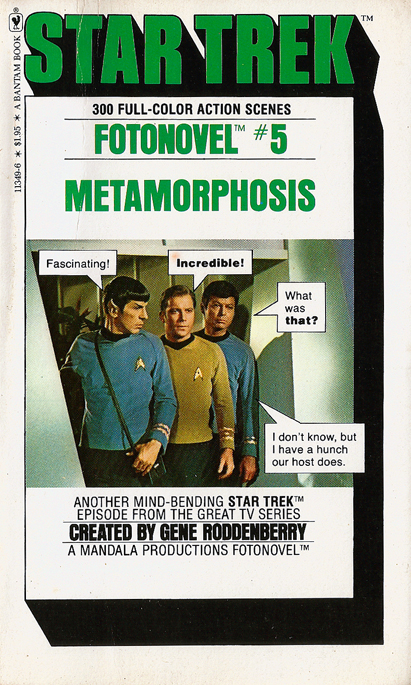 Star Trek Fotonovel #5: Metamorphosis