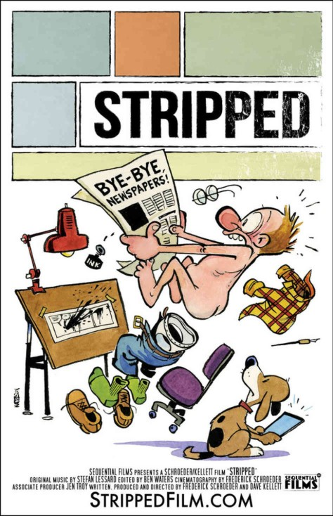 Stripped, theatrical poster