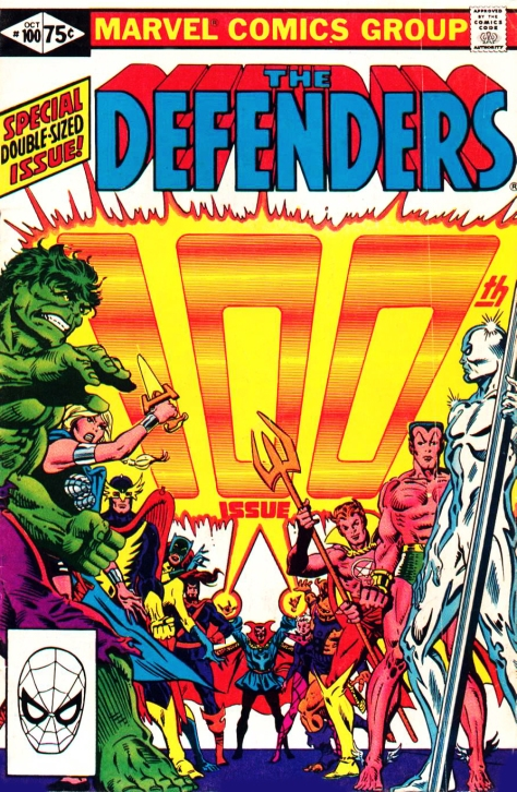 The Defenders, issue 100