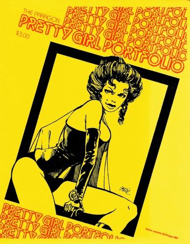 The Paragon Pretty Girl Portfolio, cover