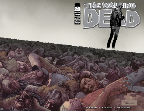 The Walking Dead, issue 100