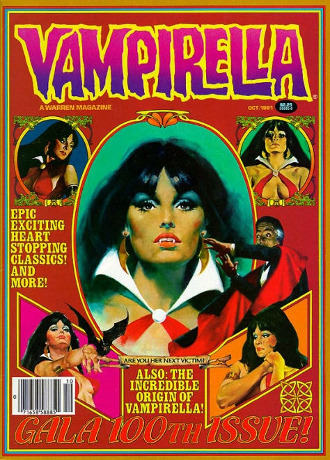 Vampirella, issue 100