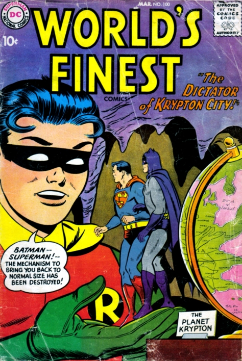 World's Finest Comics, issue 100