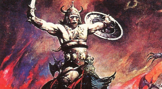 Frazetta Trading Cards Series One, numbers 16-30 (1991)