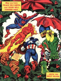 Giant Superhero Holiday Grab-Bag, back cover