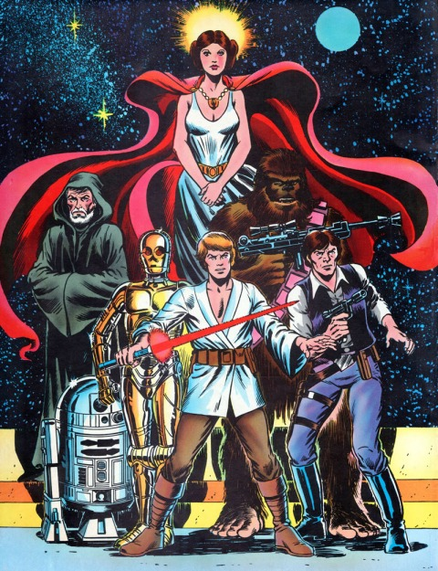 Marvel Star Wars Special Edition #1, back cover
