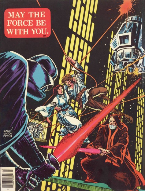 Marvel Star Wars Special Edition #3, back cover