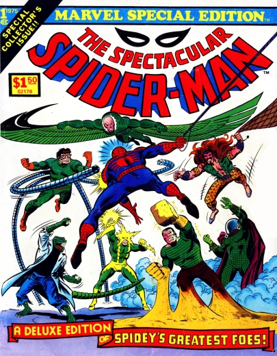 The Spectacular Spider-Man Special Edition, cover
