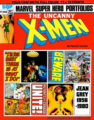The Uncanny X-Men Portfolio, Set Two: front cover