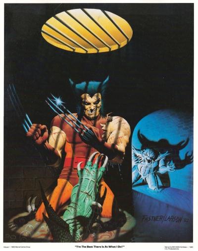 The Uncanny X-Men Portfolio, Set Two: plate 1