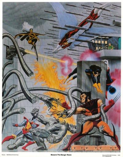 The Uncanny X-Men Portfolio, Set Two: plate two