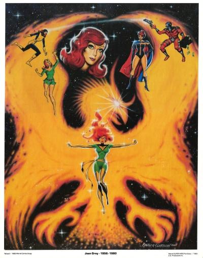The Uncanny X-Men Portfolio, Set Two: plate four