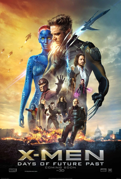 X-Men: Days of Future Past, theatrical poster