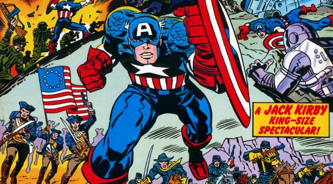Marvel Treasury Special: Captain America's Bicentennial Battles (1976)