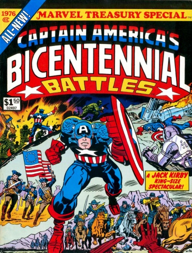 Captain America's Bicentennial Battles, front cover