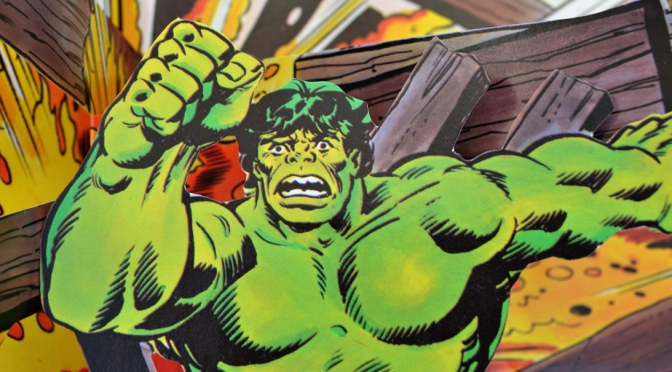 Piccolo's The Incredible Hulk pop-up book (1980)