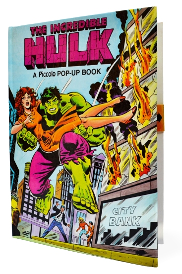 Hulk Pop-up Book, front cover