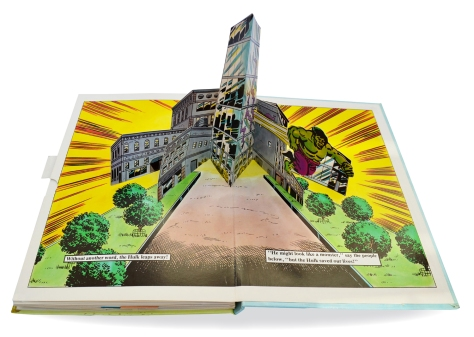 Hulk Pop-up Book, pages 11 & 12
