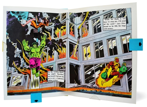 Hulk Pop-up Book, pages 3 & 4