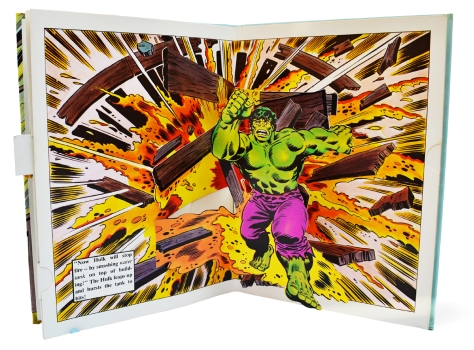 Hulk Pop-up Book, pages 7 & 8