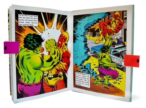 Hulk Pop-up Book, pages 9 & 10