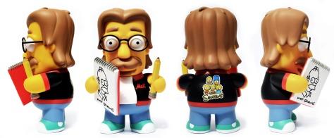 Kidrobot's Matt Groening, all sides