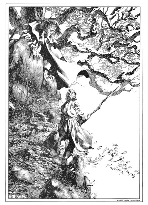 Bernie Wrightson's Frankenstein Portfolio, plate 5