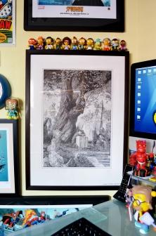 Bernie Wrightson Frankenstein print