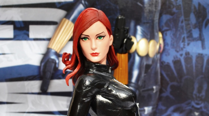 Reviewed: Marvel Now! Black Widow ARTFX+ Statue by Kotobukiya
