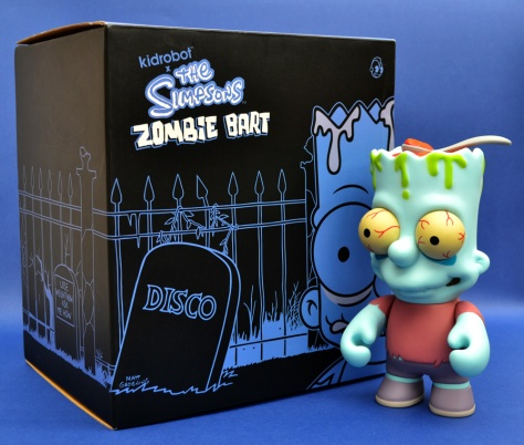 Kidrobot's Zombie Bart, with box