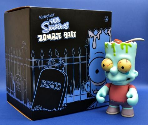 Kidrobot's Zombie Bart, with box
