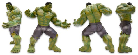 Kotobukiya's Marvel Now! Hulk ARTFX+ Statue, all sides