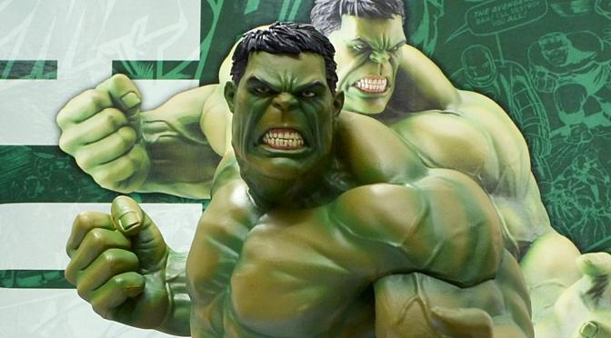 Reviewed: Marvel Now! Hulk ARTFX+ Statue by Kotobukiya