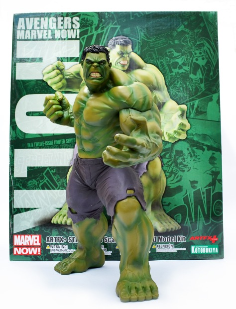 Kotobukiya's Marvel Now! Hulk ARTFX+ Statue with box