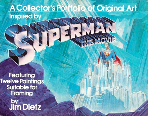 Superman The Movie Portfolio, cover