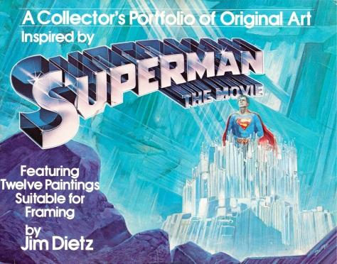 Superman The Movie Portfolio, cover