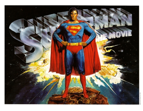 Superman The Movie Portfolio, plate 1