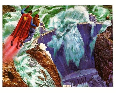 Superman The Movie Portfolio, plate 10