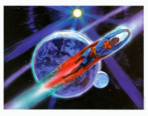 Superman The Movie Portfolio, plate 12