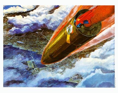 Superman The Movie Portfolio, plate 9