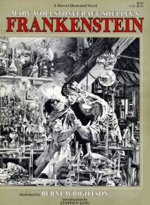 The 1983 Marvel Edition of Bernie Wrightson's Frankenstein
