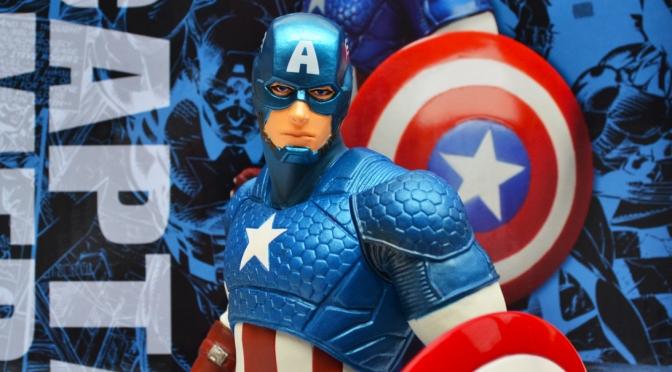 Reviewed: Marvel Now! Captain America ARTFX+ Statue by Kotobukiya